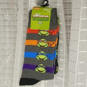 NWT TMNT Mug & Crew Socks Bundle